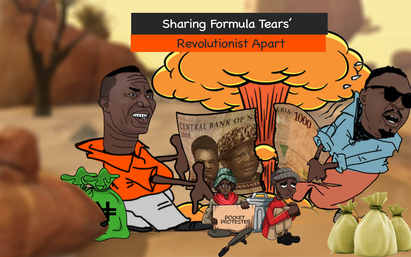 SHARING FORMULA TEARS REVOLUTIONARIES APART, AS STATE COORDINATORS PULLS OUT
