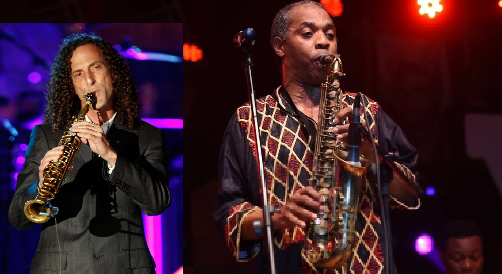 Kenny G and Femi Kuti