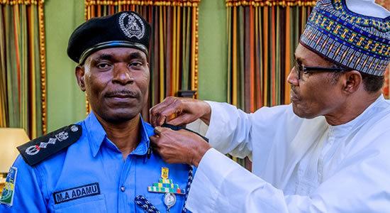PMB Appoints Mohammed Adamu New IGP
