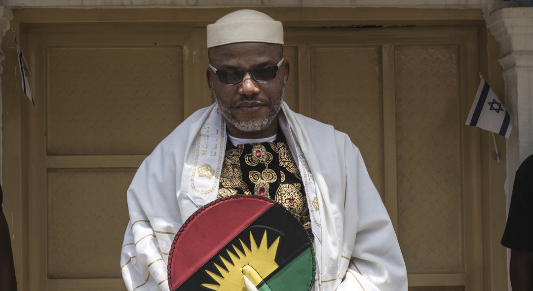 Nnamdi Kanu Breaks Silence On IPOB Attack On Ekweremadu
