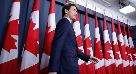 COVID-19: Canadian PM Justin Trudeau In Self Isolation After His Wife Tested Positive