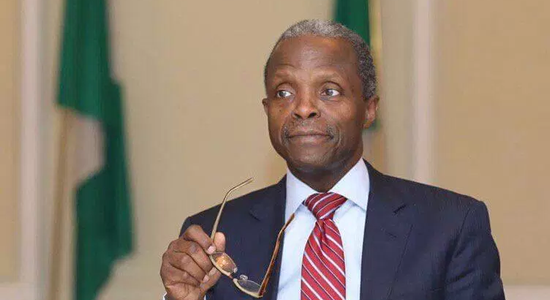 Collaboration with NSE Apt - Osinbajo