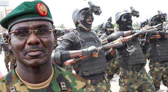 Army Receives Delivery Of Weapons, Ammunition