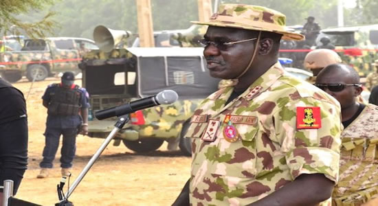 Travel in Mufti, Buratai Orders Military PersonnelTravel in Mufti, Buratai Orders Military Personnel