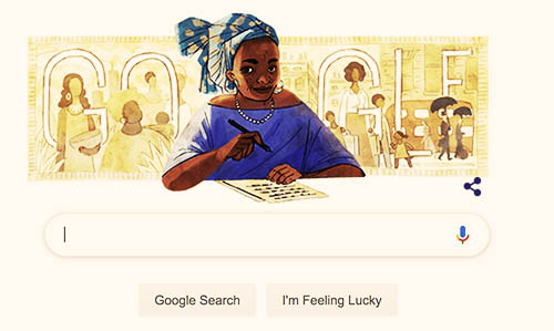 Google Celebrates Buchi Emecheta On Her Posthumous Birthday