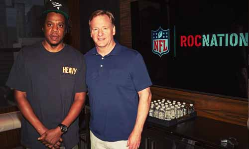 Jay-Z & NFL Team Up on Entertainment and Social Activism