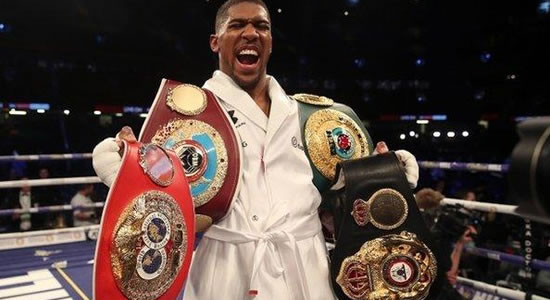 Boxing: Anthony Joshua Knocks Out Pulev To Retain Title