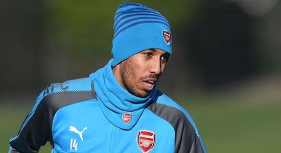Aubameyang Dispels Transfer Report, Vows To Take Arsenal Back To The Top