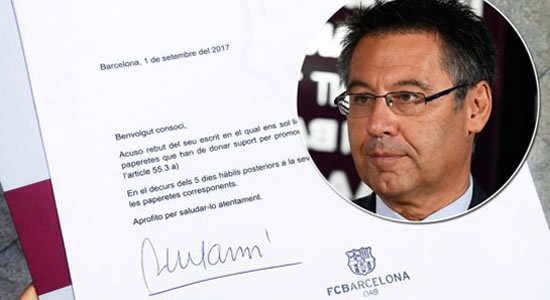 Barcelona President Josep Bartomeu Resigns After Dustup With Messi
