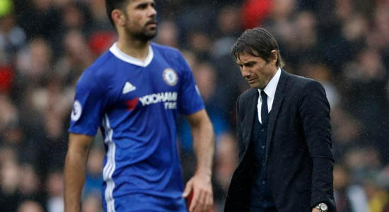 Conte Denies Axing Diego Costa