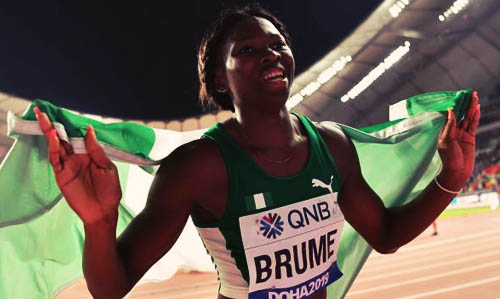 Doha 2019: Ese Brume Wins Nigeria First Medal With 6.91m At The 17th IAAF World Championships