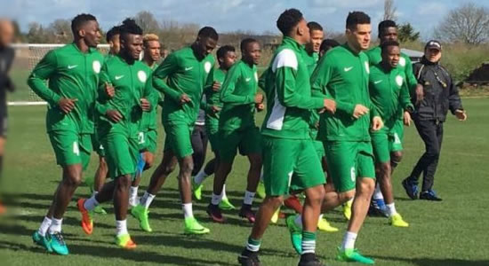 Nigeria Down on FIFA Ranking