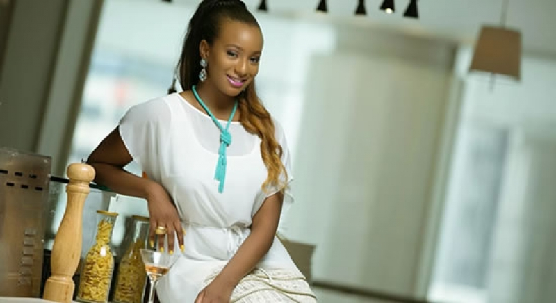 DJ Cuppy Gets Anthony Joshua Diamond Gift